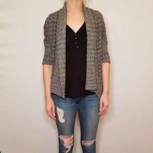 Express Shawl Collar Wool Cardi
